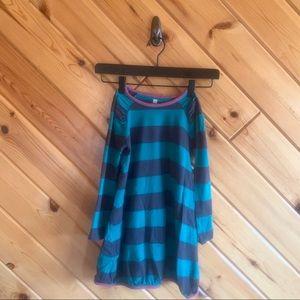 Tea Collection Striped Bubble Hem Dress 5 Girl